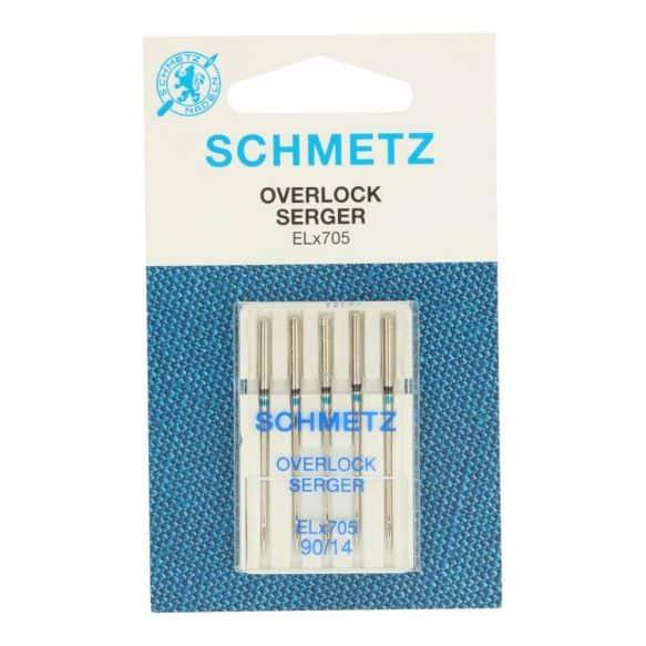 Schmetz - Overlock 5 naalden 90-14 ELX705 90 1