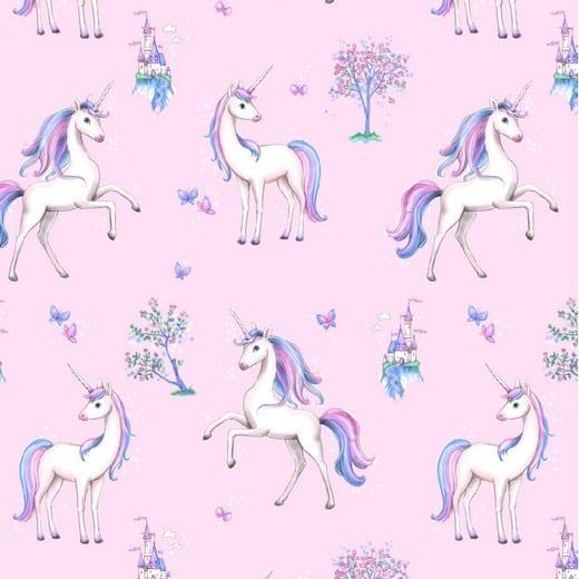Poppy- Digital Unicorn Paradise - Pink 08417.001