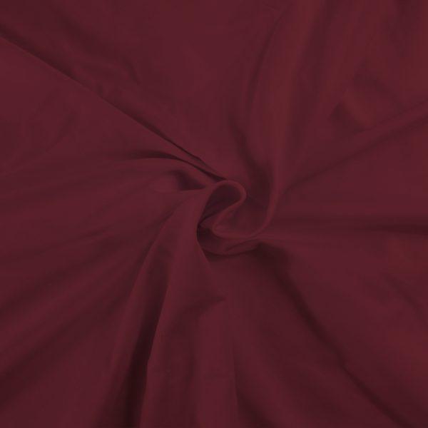 Fabrilogy boordstof  - Donker Bordeaux (415) fabrilogy gots twisted 415 dark