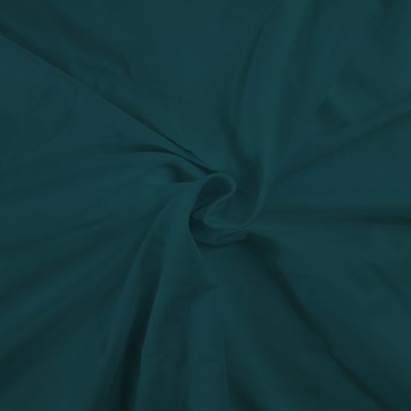 Fabrilogy boordstof - Donker Petrol (755) fabrilogy gots twisted 755 dark petrol blue 1