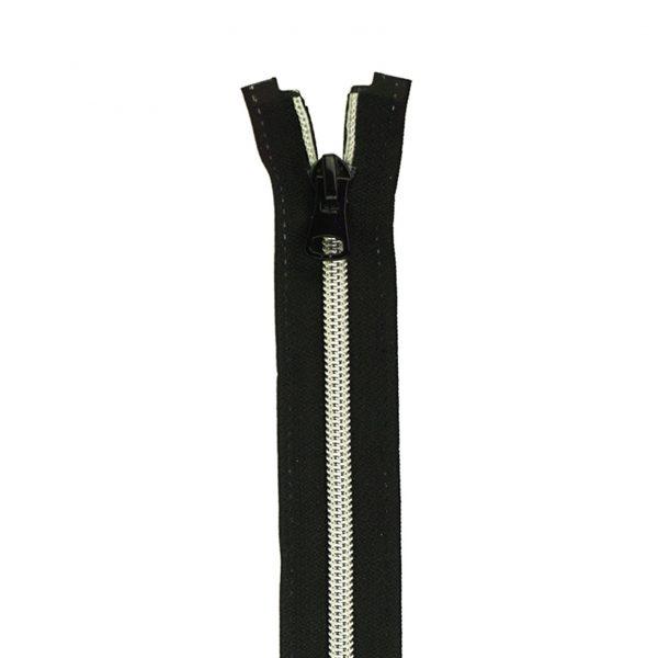 Spiraal rits S70 metallic (mtr)