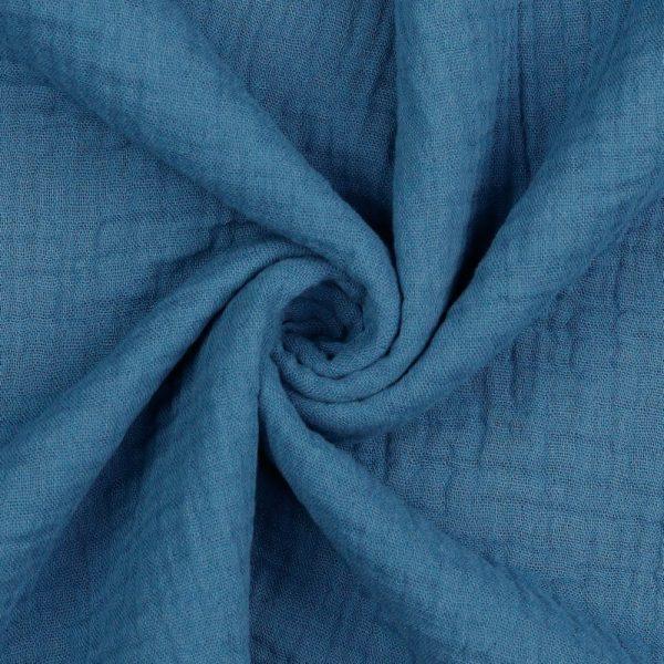 Poppy - Double Gauze GOTS - Indigo 03959.012 image2