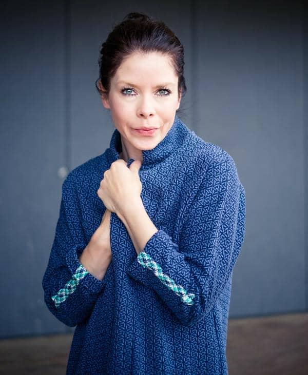 Albstoffe- Mira Knit GOTS –Jeans/Marine Knit Jersey Mira Blau Orient Oxident Stofftraeume4you Hamburger Liebe Albstoffe Judith