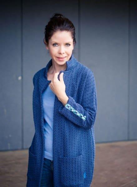 Albstoffe- Mira Knit GOTS –Jeans/Marine mira knit 33.10 1