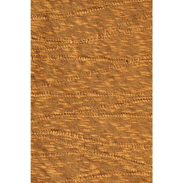 Mind the Maker - Organic Slub Jacquard Knit - Dry Mustard mtm organic slub jacquard sq 01