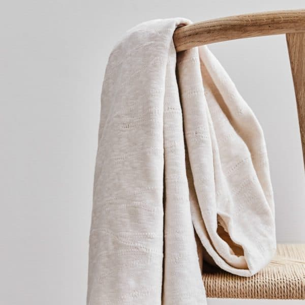 Mind the Maker - Organic Slub Jacquard Knit - Creamy White mtm organic slub jacquard sq 07