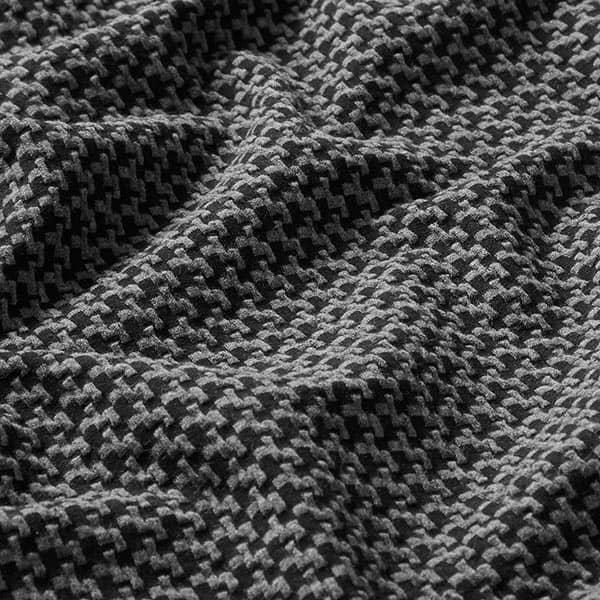 Albstoffe- Brick Knit GOTS – zwart/antraciet orient oxident jacquardjersey brick knit gots zwart anthraciet albstoffe hamburger liebe 173 183h84a 3299 ZB02