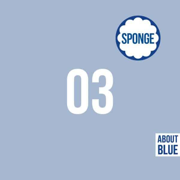 About Blue - UNI 3 Cashmere Blue (sponge) 03 800 AllWeHave2