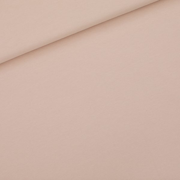 See You At Six - French Terry - Pale Pink - R See You At Six Fabric Solid Pale Pink 2021 01b