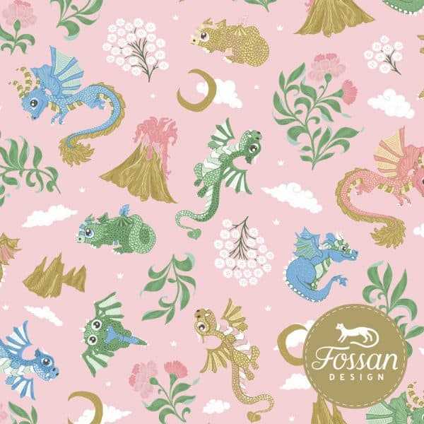 Fossan- Baby Dragons Pink Shop Baby Dragons Pink