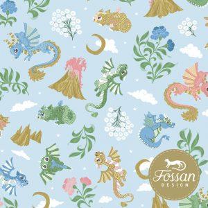 Nieuwste producten bij Mevrouw Jett Shop Baby Dragons Sky Blue