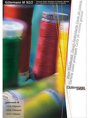 Gütermann Kleurkaart M92-2 kleurkaart