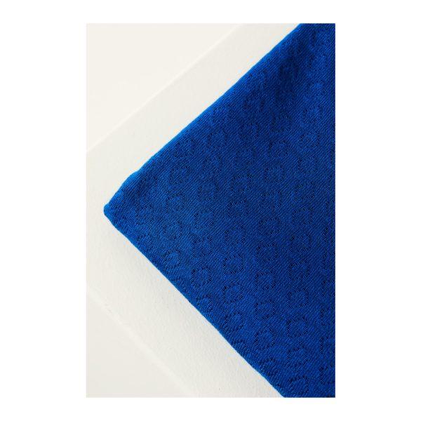 Mind the Maker Organic Gem Pointelle - Intense Blue