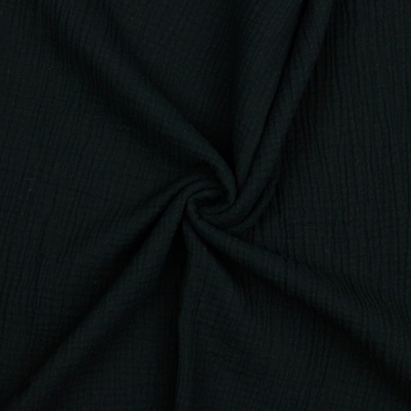 Poppy - Double Gauze GOTS - Black 03959.001 image1