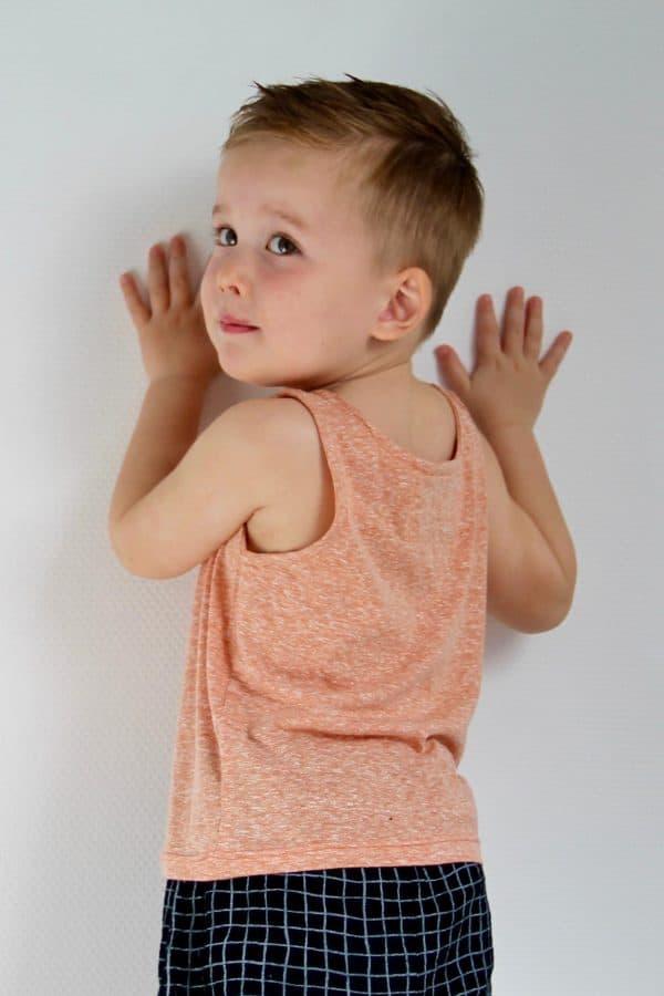 Wisj- Jente papieren naaipatroon top en jurk