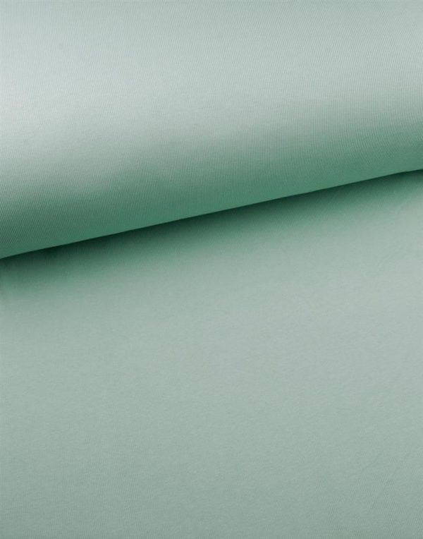 Eva Mouton - Boordstof Doggy Green 609 ribbing 609