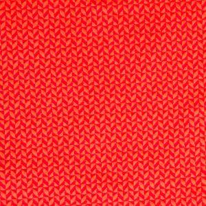 Albstoffe Double 3D GOTS – oranje/kreeft
