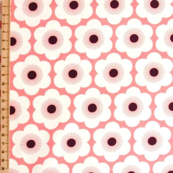 Albstoffe- Sakura Nippon Flowers - Col 4 Pink/Black 20210311 1239 28a