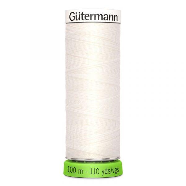 Gütermann rPET Allesnaaigaren (111) Wit 100m Gutermann rPET 100m 111