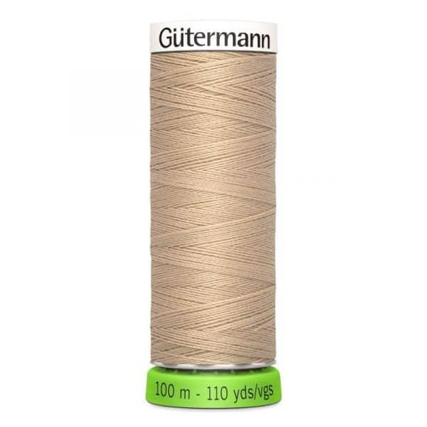 Gütermann rPET Allesnaaigaren (186) Beige 100m Gutermann rPET 100m 186