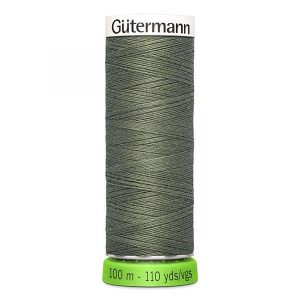 Gütermann rPET Allesnaaigaren (824) Legergroen 100m Gutermann rPET 100m 824