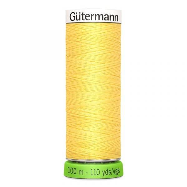 Gütermann rPET Allesnaaigaren (852) Lichtgeel 100m Gutermann rPET 100m 852