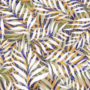 Lillestoff- Palmblatt Sunset (Micromodal)