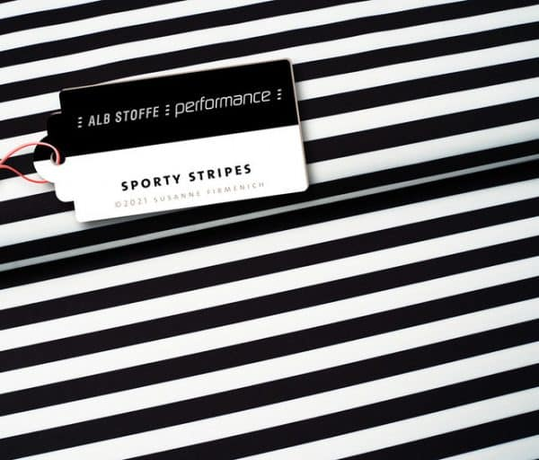 Albstoffe Performance- Sporty Stripes (lycra) 1661927807