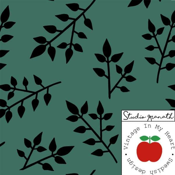 Vintage in my Heart - Gilby Leaf Green tricot Gilby Leaf Green