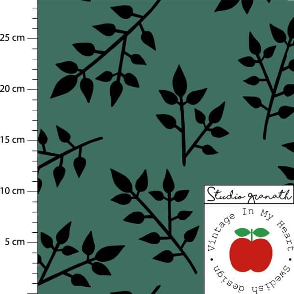 Vintage in my Heart - Gilby Leaf Green tricot Gilby Leaf Green2