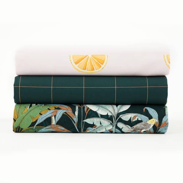See You At Six - Jungle - M - Cotton Canvas Gabardine Twill See You At Six Fabrics Summer 2021 Jungle M Green Gables Canvas 002b