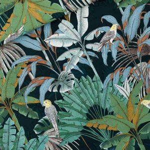 Koopjes See You At Six Fabrics Summer 2021 Jungle M Green Gables Canvas 01b