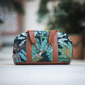 Koopjes See You At Six Fabrics Summer 2021 Jungle M Green Gables Canvas 50b