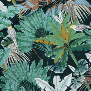 Koopjes See You At Six Fabrics Summer 2021 Jungle M Green Gables Viscose 01b