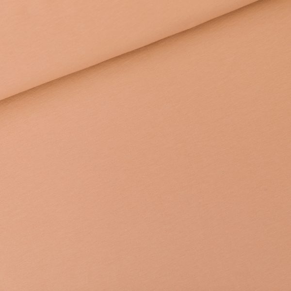See You At Six - French Terry - Café Crème See You At Six Fabrics Summer 2021 Solid Color Cafe Creme French Terry 01b