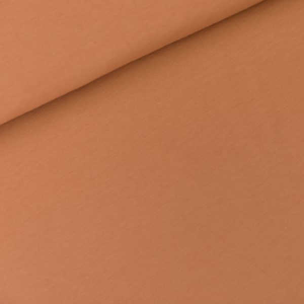 See You At Six - French Terry - Pecan Brown See You At Six Fabrics Summer 2021 Solid Color Pecan Brown French Terry 01b