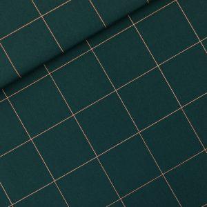 Koopjes See You At Six Fabrics Summer 2021 Thin Grid XL Green Gables 01b