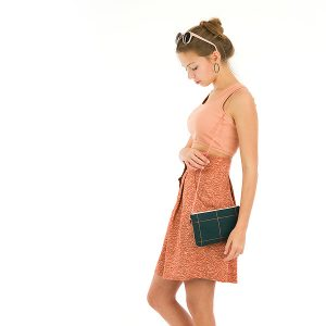 Koopjes See You At Six Fabrics Summer 2021 Thin Grid XL Green Gables 40b