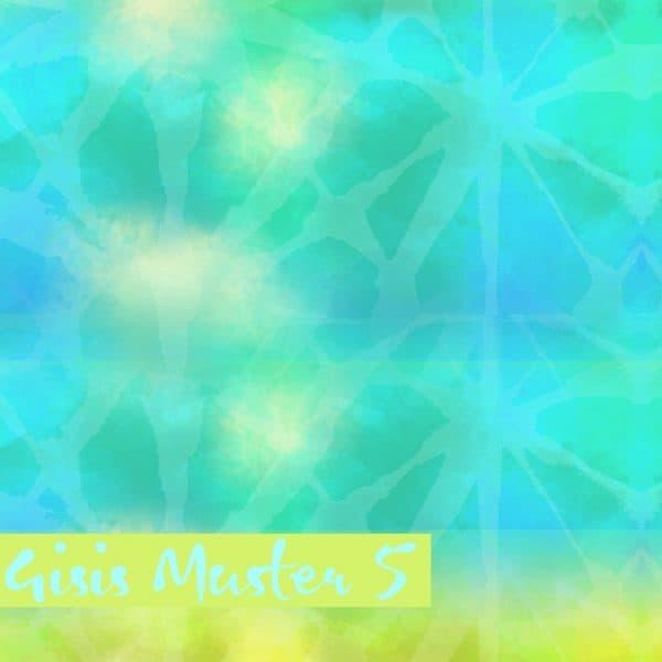 Lillestoff- Gisis muster 5 groen
