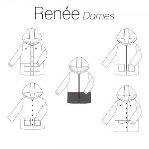 Iris May- Renée dames (papierenpatroon)