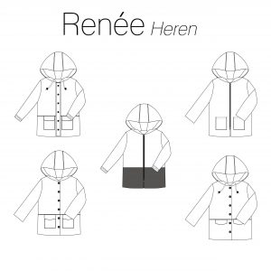 Iris May- Renée jas Heren (papierenpatroon)