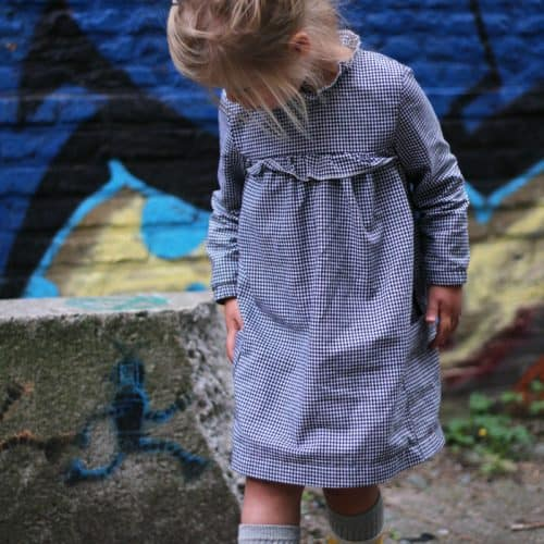 Iris May- Odeline blouse/ jurk (papierenpatroon)