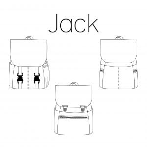 Iris May- Jack rugzak (papier)