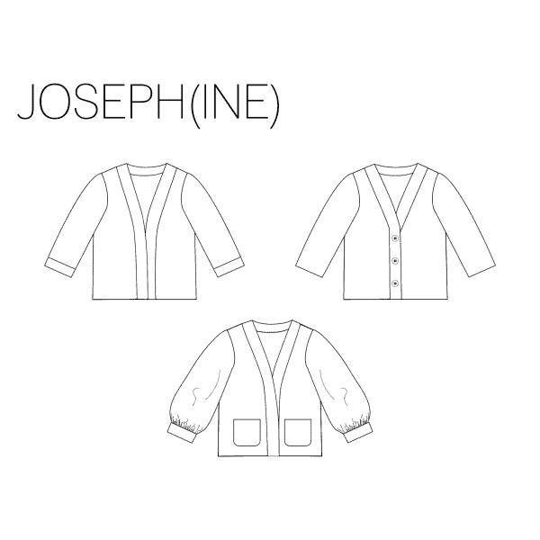 Iris May- Josephine vestje (papierenpattroon)