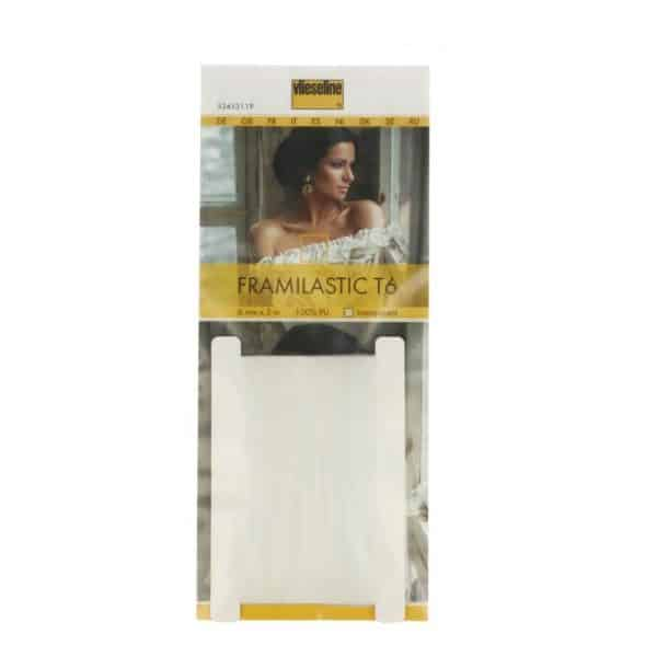 Vlieseline- Framilastic Smockband 6mm Transparant T6 | 5m 235190 framalistic smockband 6mm