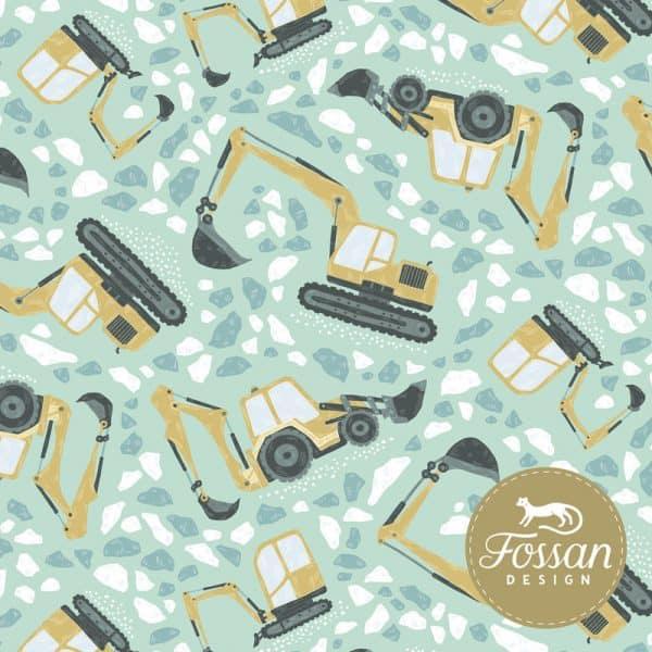 Fossan- Digging Mint Shop Digging Mint