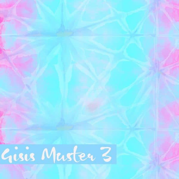 Lillestoff- Gisis Muster 3 - French Terry gisis muster 3