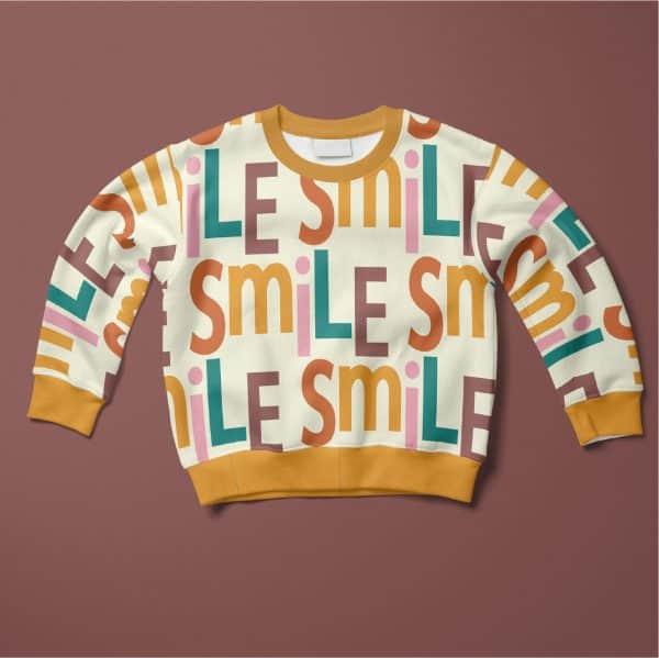 Lillestoff- Smile - French Terry ofPcTF0V4PInIZRUAAAAASUVORK5CYII