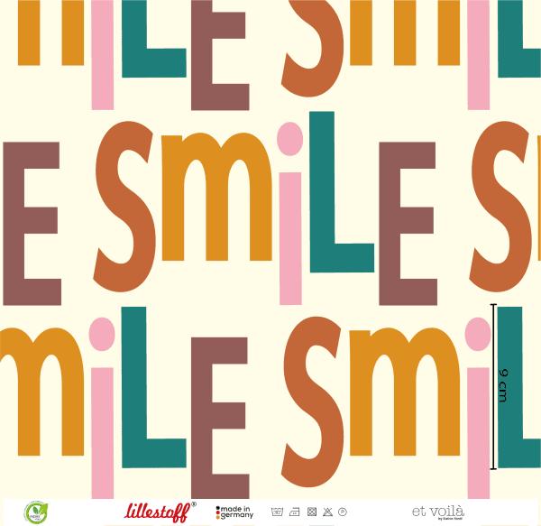 Lillestoff- Smile - French Terry smile