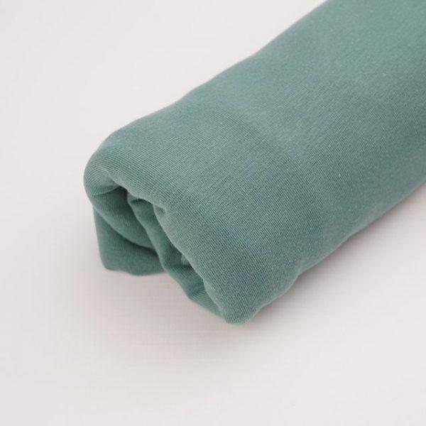 Stoffonkel- Organic ribs - Dust Green- (GOTS) organic ribs dust green gots